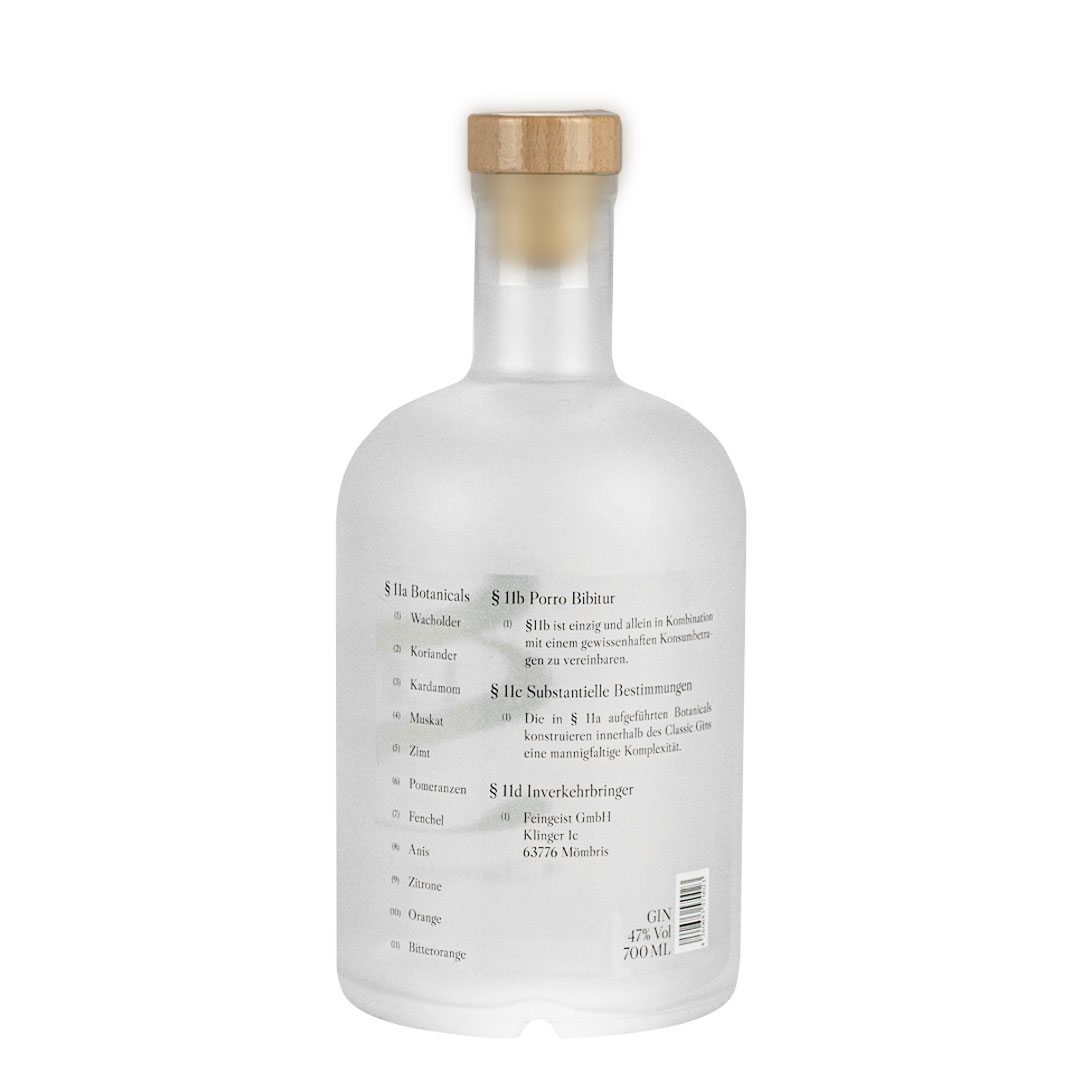 Paragraph 11 Classic Gin