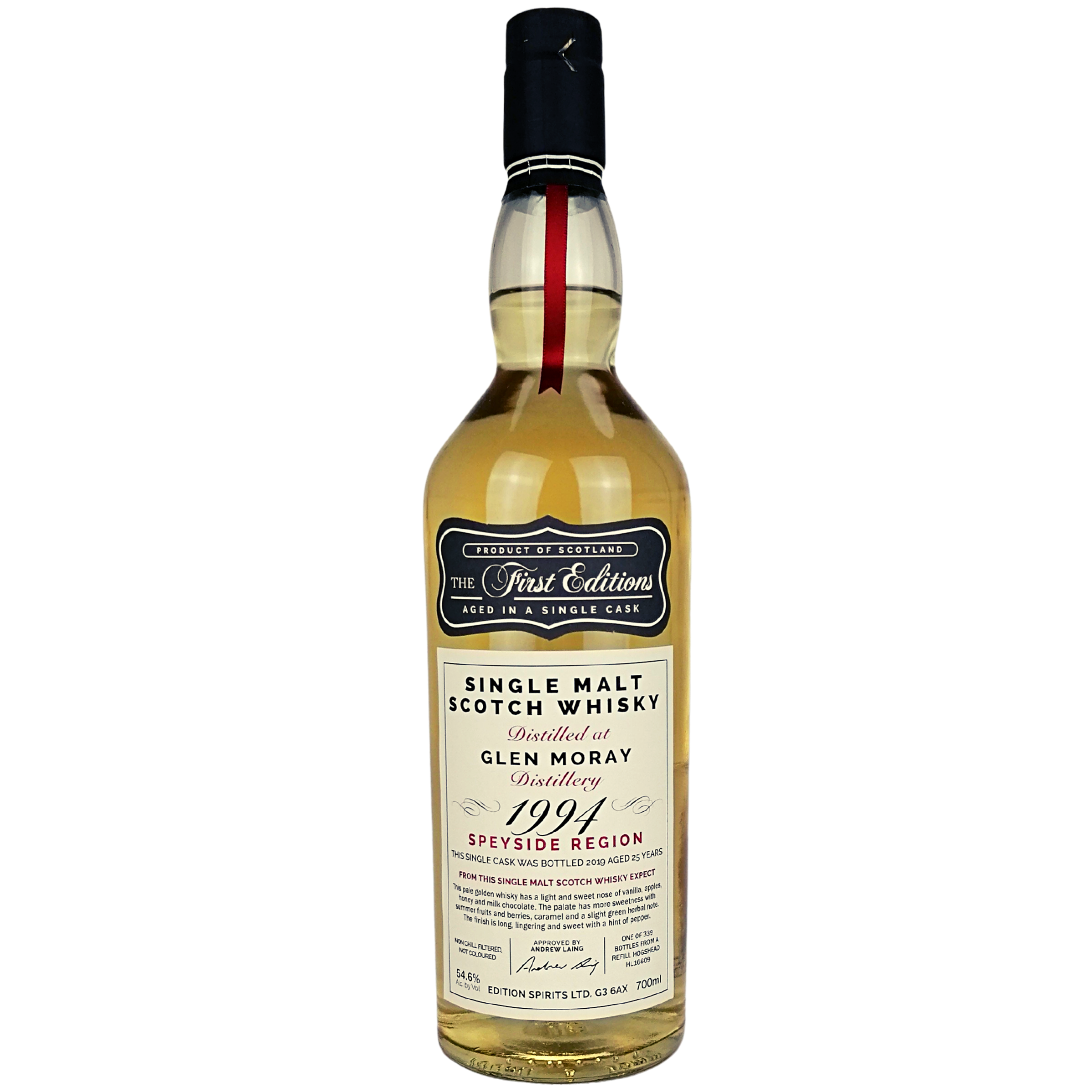 Glen Moray 1994/2019 The First Editions