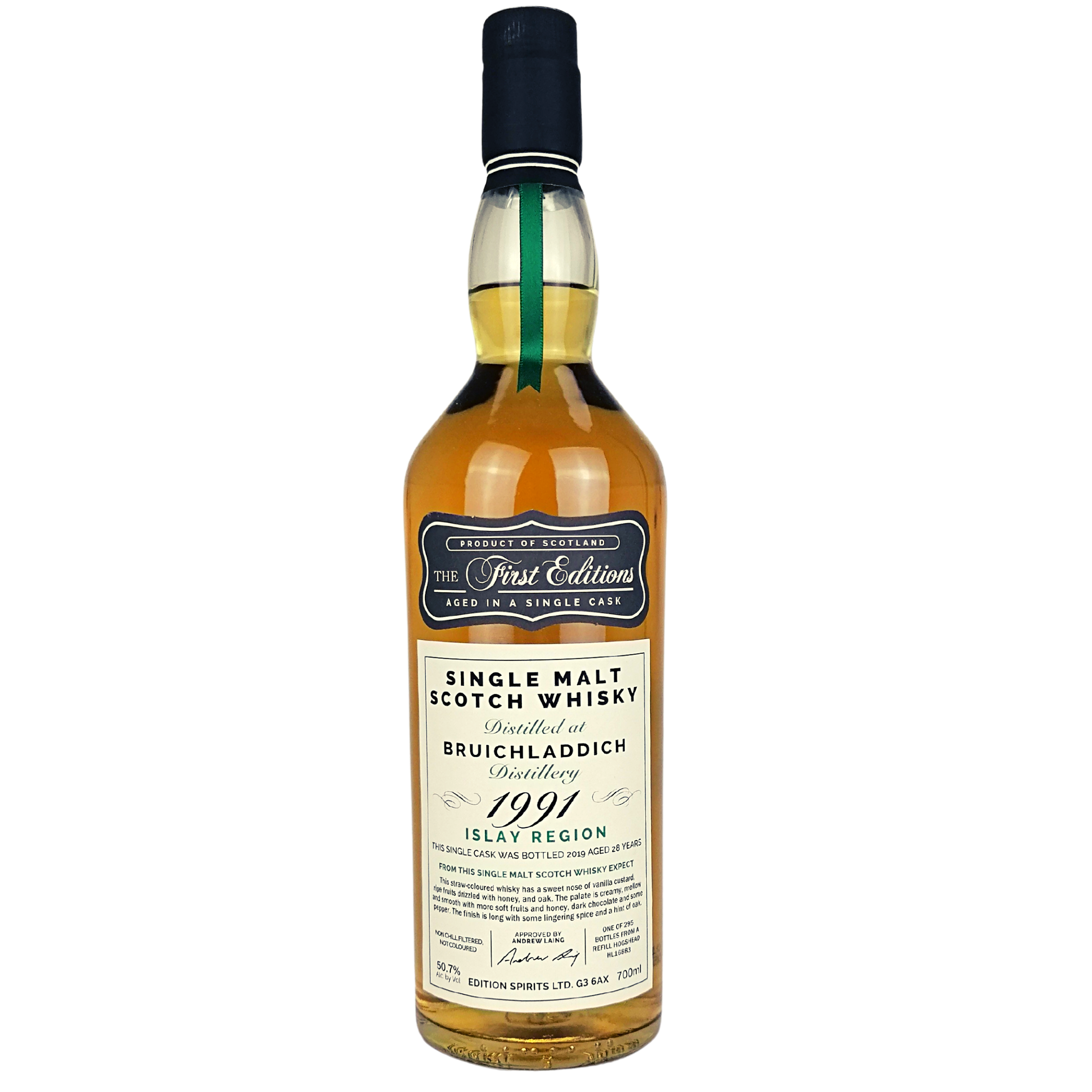 Bruichladdich 1991/2019 The First Editions